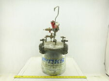 Binks 2.8 Gallon Stainless Steel Lid Glue Paint Pressure Pot