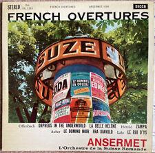 Decca SXL 2263 Ansermet French Overtures