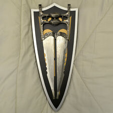 "Indian Fist Dagger 17"" with Wall Mount KS 4816"