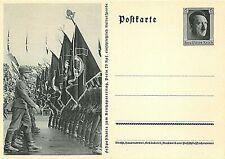 GERMANY - POSTAL STATIONERY - NUREMBERG CONGRESS 1935 - MARCHING SS