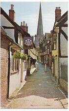 Herefordshire; Church Lane, Ledbury PPC, c 1960's, Shows Prince Of Wales Pub