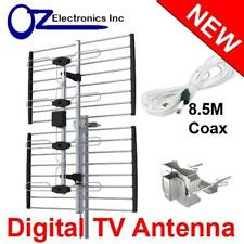 Digital TV Outdoor Antenna UHF VHF FM AUSTRALIAN conditions for Country & Metro