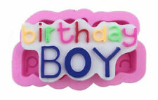Birthday Boy Silicone Mold for Fondant, Gum Paste, Chocolate, Crafts