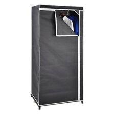 Tissu Penderie Gris Cabinet Matériau Placard pour Camping Vestiaire