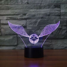 """Harry Potter """"Snitch Ball"""" 3D LED Lamp"""