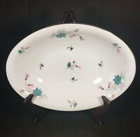 Vintage Arlen Fine China Seyei Japan Oval Serving Vegetable Bowl Floral Capri