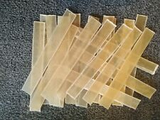 RAWHIDE NATURAL FLAT DOG CHEW 6.5'' PACK OF 20, POSTED 1ST CLASS FREE !!
