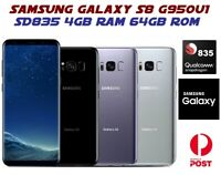 Samsung Galaxy S8 SM-G950U1 Snapdragon 835 4G 64GB Android Smartphone US Ver