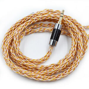 KZ 784 Cores HiFi Gold-plated Oxygen-free Copper Earphone Upgrade Cable