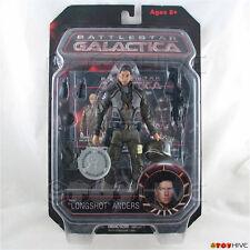 "Battlestar Galactica Samuel ""Longshot"" Anders action figure Diamond Select BSG"
