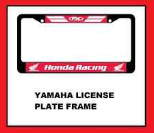 Car License Plate Frame honda racing motocross motorcycle dirtbike atv mx sx