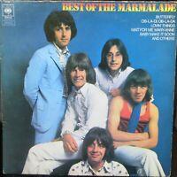 THE BEST OF THE MARMALADE LP CBS SPR36 Original 1970 EX-
