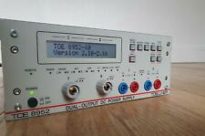 Toellner TOE 8952 Professional Dual Programmable DC Bench Power Supply, 400W