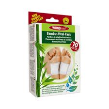 WUNDmed Bambus Vital-Pads 10er Fusspflege Entgiftung Pfegeprodukt
