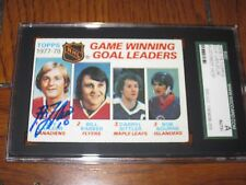 GUY LAFLEUR AUTOGRAPHED 1978-1979 TOPPS CARD-SGC SLAB-ENCAPSULATED-HOF