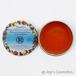 """1 ROSEBUD Smith 'S Rose&mandarin Lèvre Baume Boite 0.8 OZ """" RB - Rmlb """" Joy's"""
