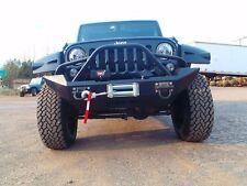 Jeep Wrangler JK Front Winch Bumper