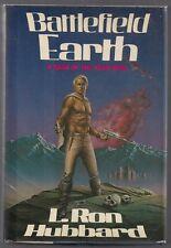 BATTLEFIELD EARTH - L. Ron Hubbard - 1st Printing - HC/DJ - VNF/NF