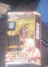 Ryback WWE Elite Collection Series 24 action figure Autographed Feed Me More