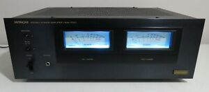HITACHI HMA-7500 STEREO POWER AMPLIFIER FULLY RECAPPED + LED's PRO SERVICED