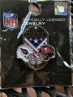 New & Sealed NFL Tampa Bay Buccaneers Military Appreciation Day Pin Cardinals