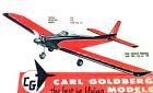 "Model Airplane Plans (RC): SKYLARK 56"" Wingspan for .19-.40 Engines (Goldberg)"