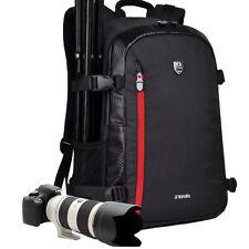 Viaje cámara DSLR Mochila Funda Para Canon Nikon Sony+Funda Lluvia