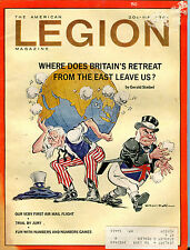 The American Legion Magazine May 1968 Britain's Retreat VGEX 041516jhe