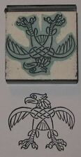 Celtic Eagle design Rubber Stamp by Amazing Arts