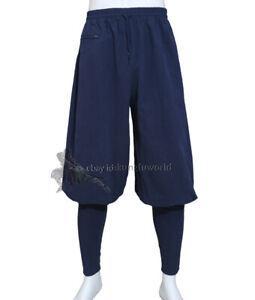 Thick Cotton Buddhist Monk Shaolin Kung fu Trousers Tai chi Pants New Design