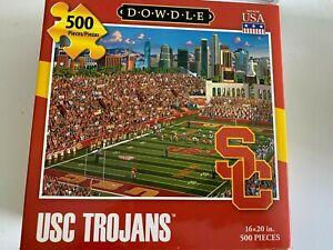 Dowdle USC Trojans Football 500 Piece Jigsaw Puzzle 2014 - 16 x 20 in NEW