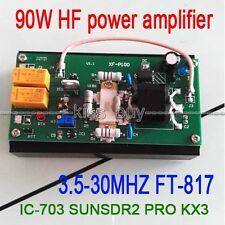 90W HF Power Amplifier For FT-817 IC-703 SUNSDR2 PRO KX3 QRP Ham Radio