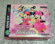 [old stock] Dance Dance Revolution Gb Disney Mix GameBoy Character Anime Soft
