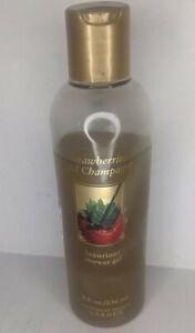 ✨ Victoria's Secret Garden Strawberries and Champagne Shower Gel ✨ 3/4 bottle