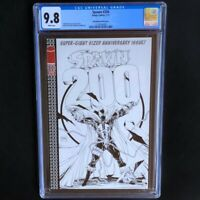 SPAWN #200 💥 CGC 9.8 💥 TODD MCFARLANE B&W SKETCH COVER VARIANT Image 2011