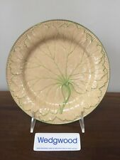 Antique Wedgwood Majolica YELLOW LEAF PLATE c. 1860 (A)