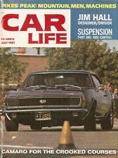 CAR LIFE 1967 JULY - J HALL,DART 6,PIKES PEAK,PACKARD DARRIN,ASTRO,CAMARO SS