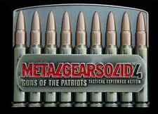 METAL GEAR SOLID 4 GUNS OF THE PATRIOTS BELT BUCKLE NEW