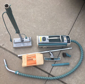 Electrolux 1205 Canister Vacuum Cleaner with Power Nozzle Brush  Vintage Works