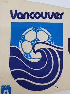 Vtg Original 70s 80s NASL Vancouver Whitecaps North American Soccer League