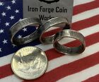 Tennessee TN Handcrafted Washington Quarters coin ring Sizes 5-14 2002 SEALED