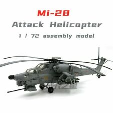 1:72 MI28 Anti-Tank Attack Helicopter Diecast Model Helicopter Home Office Room