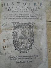 VAUX DE CERNAY Histoire Albigeois Simon de Montfort 1568 RARE 1ère ED TOULOUSE