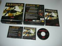 DESCENT 2 Pc Cd Rom Original BIG BOX FAST DISPATCH