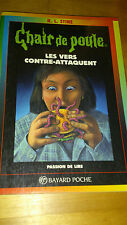 R.L. Stine - Chair de Poule n°40 - Les Vers contre-attaquent - Bayard (1998)