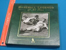 Baseball Legends of All Time, Leather Bound Hardcover Book, 1994