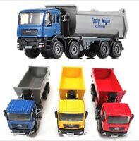 KDW 1:50 Scale Diecast Dump Trucks Construction Vehicle Cars Model Toys NEW