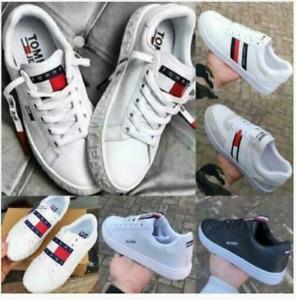 Tommy Hilfiger Low-Top Sneaker Freizeitschuhe Schuhe Herren Damen Gr. 36-44 DE