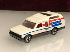 Vintage Hot Wheels Blackwall Minitrek Toyota Good Time Camper White early 1980's