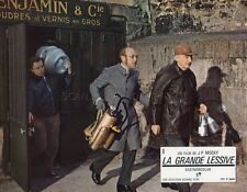 BOURVIL LA GRANDE LESSIVE MOCKY 1968 VINTAGE LOBBY CARD #1